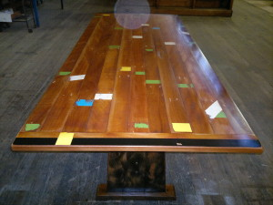 Brushbox Dining Table-Echuca Secondary College Basketball Court