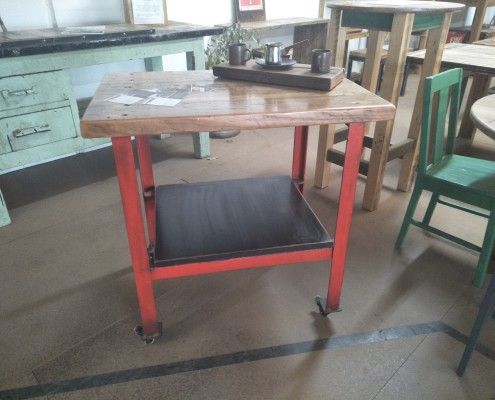 Portable Workstation : Kitchen Trolley with Oregon Top
