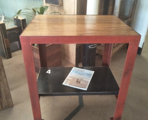 The #4 Kitchen Trolley : Workstation with Blackbutt Top