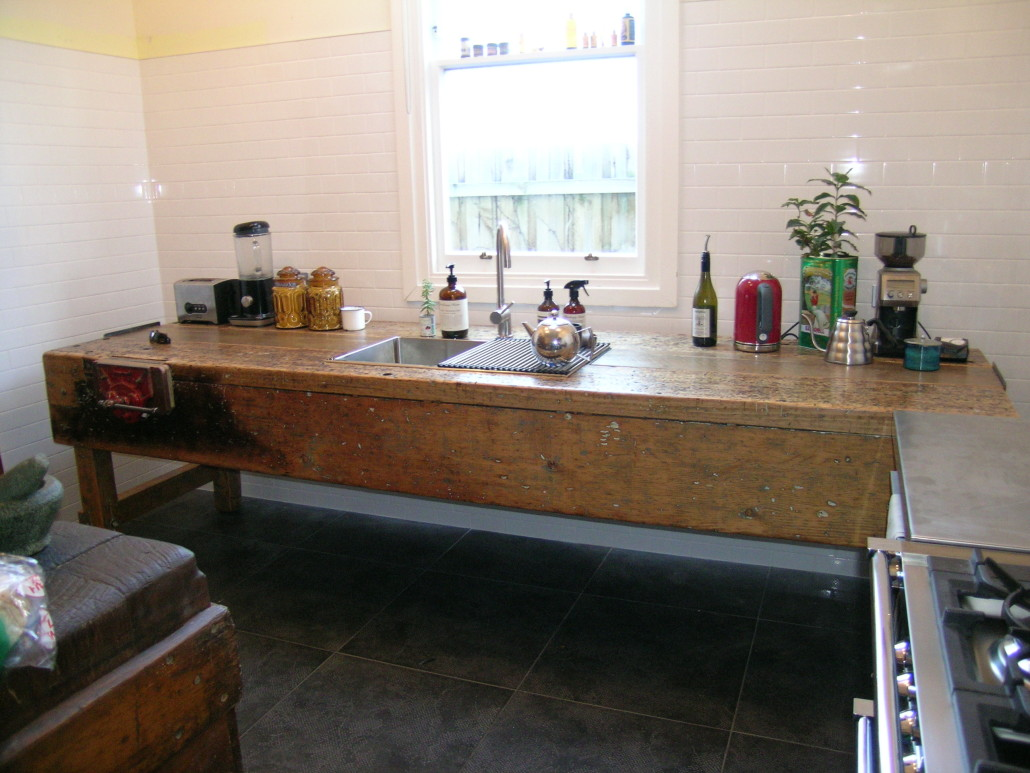 Recycled Lane Melbourne Retrofit Kitchens