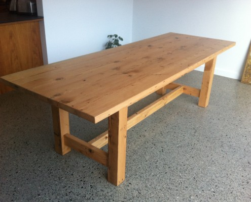 Bespoke Dining Table - Recycled Oregon