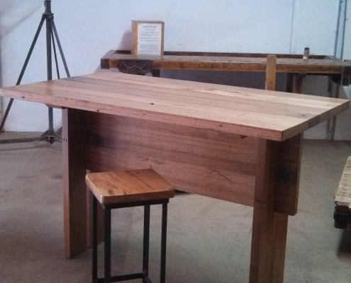Recycled Blackbutt Desk / Workstation