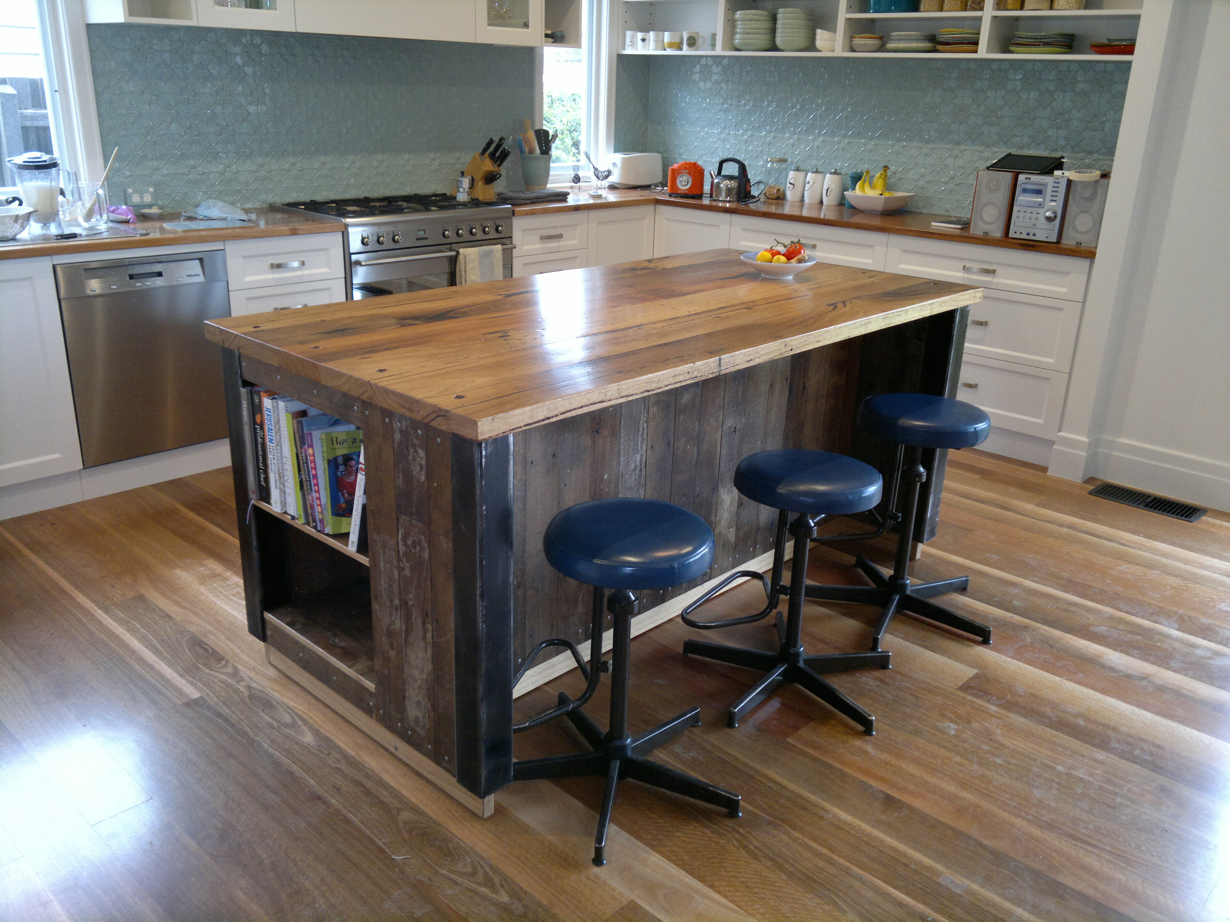 kitchen island benches bespoke 3 14 recycled 1841
