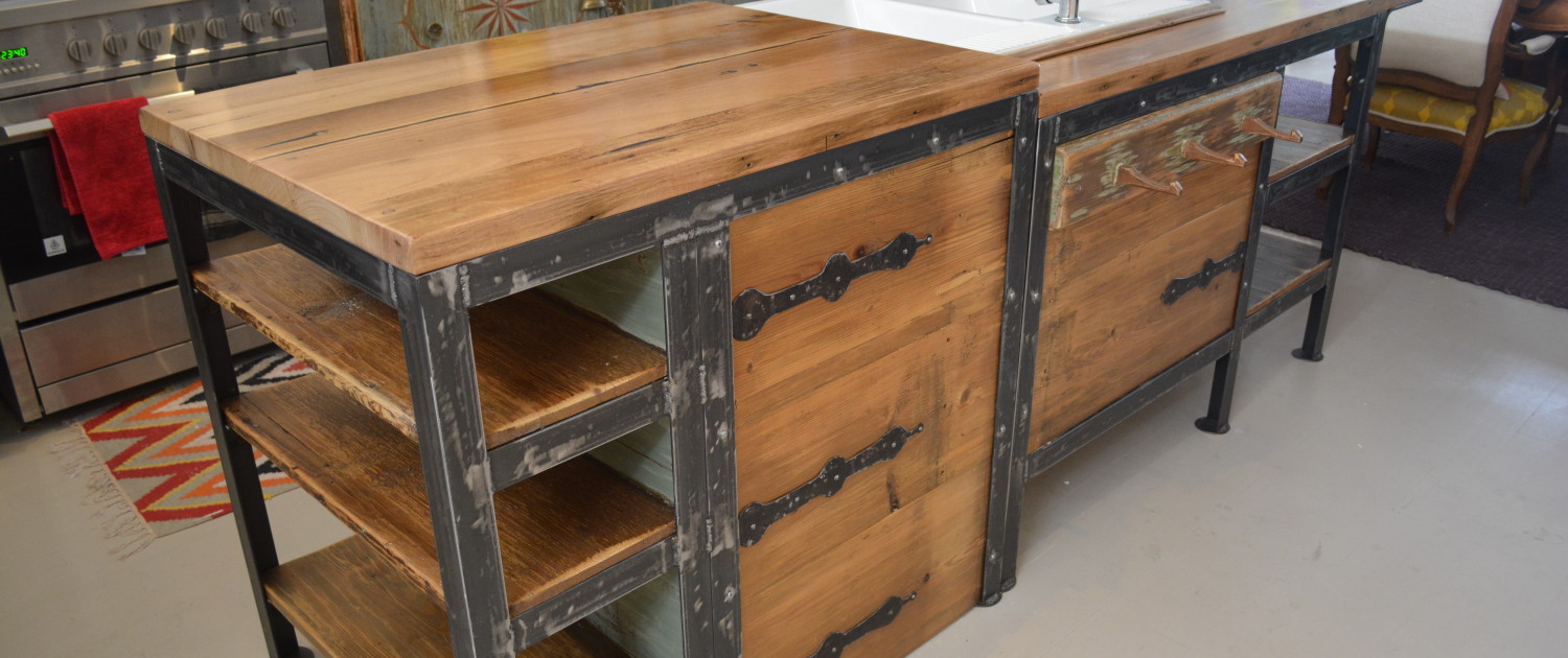 Retro Fit Kitchen - Bespoke Island Bench