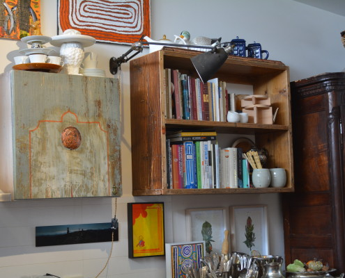 Retro Fit Kitchen - Bespoke Shelving & Bespoke Cupboard Door