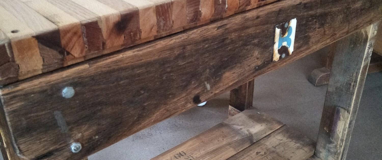 Northcote Bowls Workbench - Close Up