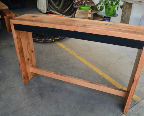 Recycled Oregon Waterfall Hall Table/Console